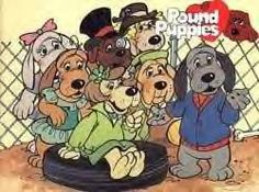 pound puppies movie. recorded on vhs off the tv. the little mermaid follows.