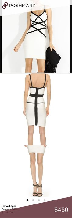 "Herve Leger ""Capreace"" Bandage Dress Size Medium Herve Leger ""Capreace"" Bandage Dress Size Medium. Very little signs of wear. Originally 1190.00!! Herve Leger Dresses Mini"