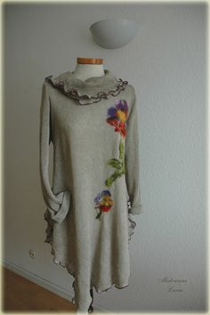 Natural  Linen tunic  found on Etsy