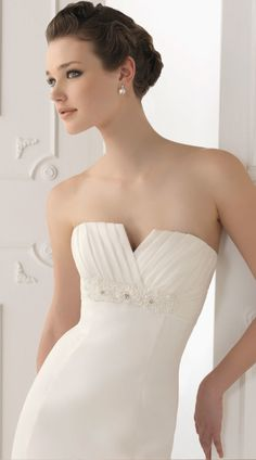 Beach wedding dresses #summer #beach #strapless #ivory #silk #weddings #weddingdress  #embellished #lace #stunning #married #thebigday #beautiful #classic #bride #gown #highst #Armadale #amityapartments #southyarra