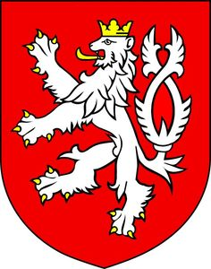 Kingdom of Bohemia wappen Kingdom Of Bohemia, Czech Republic Flag, Cities In Germany, Summer Tattoo, National Animal, Heart Of Europe, Lion Tattoo, Crests, Coat Of Arms