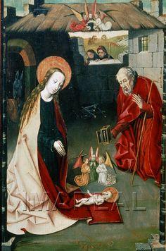 Geburt Christi 1450-1500 ; St. Pölten; Österreich; Niederösterreich; Diözesanmuseum  http://tarvos.imareal.oeaw.ac.at/server/images/7002708.JPG