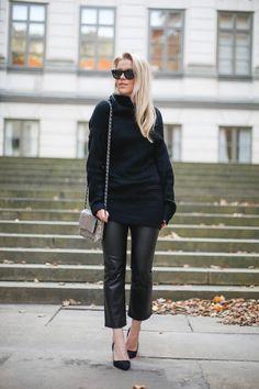 knit Zaful -  pants NLY Trend -  sunglasses Ray Ban  - bag Gina Tricot - shoes Zara
