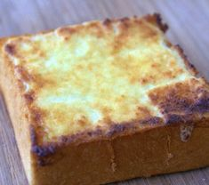 taiwanese 'brick' toast recipe. thick white eggy bread slathered with 'milk butter' and toasted.