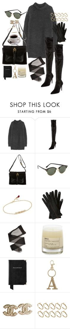"""Untitled #1078"" by marissa-91 ❤ liked on Polyvore featuring NLST, Kendall + Kylie, Proenza Schouler, Ray-Ban, Shashi, Caffé, Le Labo, Aspinal of London, Charlotte and Chanel"