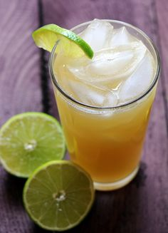 spiked key lime limeade