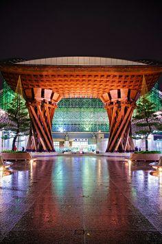 Kanazawa Station, Ishikawa, Japan