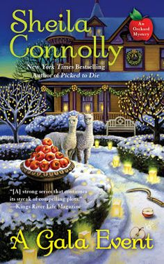 MysteryLoversKitchen.com another new title for author @SheilaConnolly A GALA EVENT, coming in the fall.