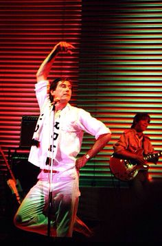 Roxy Music Bryan Ferry He Wore A Red Leather Suit When
