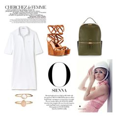 """City Chic"" by the-beauty-issue ❤ liked on Polyvore featuring Lacoste, Gianvito Rossi, Accessorize, Henri Bendel, La Femme, POLO, polyvorestyle, polyvorecontest and polodress"