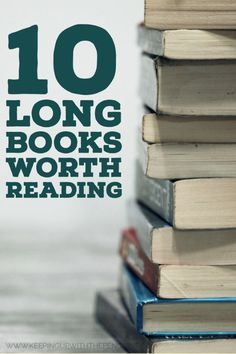 10 Long Books Worth Reading — Keeping Up With The Penguins Reading Lists, Book Lists, Best Book Reviews, Long Books, Best Books To Read, Read Books, What Book, Book Club Books, Book Nerd