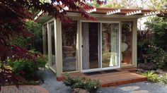 diy backyard shed kits | Sources for midcentury modern sheds — prefab, DIY kits, and plans:  Love!