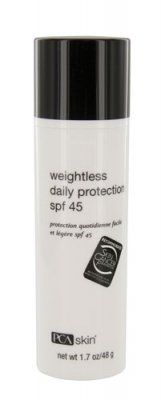 PCA Skin Weightless Protection Broad Spectrum SPF 45, 1.7 Fluid Ounce - List price: $30.00 Price: $23.95