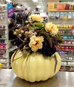 ~ Pumpkin w/ Arrangement ~