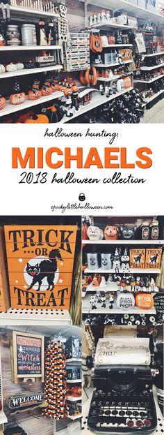 Halloween Hunting: Michaels 2018 Halloween Collection - Spooky Little Halloween
