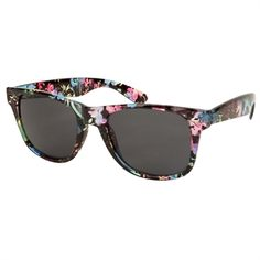 Eyeking Juniors Rich Floral Wayfarer Sunglasses #VonMaur #Eyeking #Pink #Blue