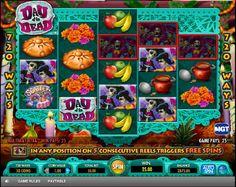 Day of the dead slotmaskin - Day of the dead slotmaskin är definitivt ett av mina favoritspel. Det har inte bara fantastiskt kreativ grafik utan också ett unikt tema. Det mörka och skrämmande temat är uppsnyggat med massor av rosa och gula klänningar och blommiga hattar. #Slotmaskiner #spelautomater #Jackpot #Dayofthedead - http://www.svenska-spelautomater-gratis.com/spel/day-of-the-dead-slotmaskin