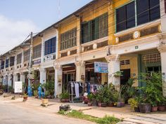 Things to Do in Kampot: A Detailed Guide to Our Favourite Town in Cambodia Kampot, Cambodia Travel, French Colonial, Ways To Travel, Travel Tips, Hill Station, Beautiful Buildings, Asia Travel, Southeast Asia