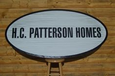 Sign Designed for H.C. Patterson Homes