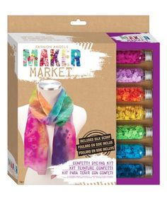Loving this Confetti Dyeing Kit on #zulily! #zulilyfinds