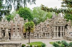 The Palais Idéal du Facteur Cheval, a piece of outsider art by Ferdinand Cheval, a postman inspired by pictures of exotic places in magazines he delivered. (Photo: Stefano Buonamici for The New York Times)