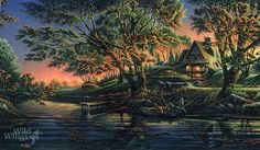 Terry Redlin's Close to Paradise