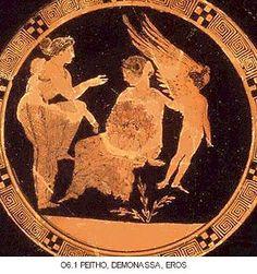 Peitho, the Greek Goddess of Persuasion