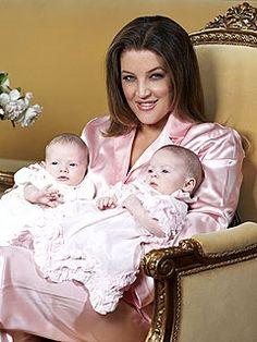 Lisa Marie Presley Twins - Twin Girls