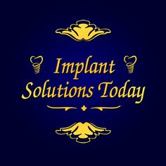 implantsolutionstoday.com can handle any possible dentist anxiety with their warm environment. 1-844-FIXBITE  | www.facebook.com/implantsolutionstoday | plus.google.com/114987368308259182712/posts