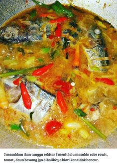 Resep Ikan Tongkol Masak Woku Khas Manado   Resepkoki.co