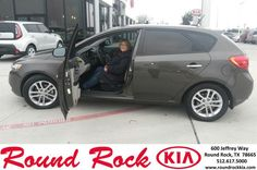 https://flic.kr/p/DgB6yD | Happy Anniversary to Kristie  on your #Kia #Forte 5-Door from Sean Knox at Round Rock Kia! | deliverymaxx.com/DealerReviews.aspx?DealerCode=K449