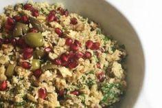 Kırma Zeytin Salatası
