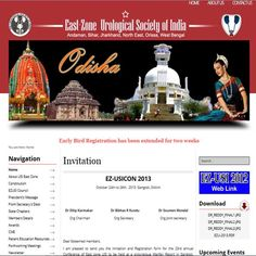 website of East Zone Urological Society of INDIA,   check it out.... www.ezusi.org