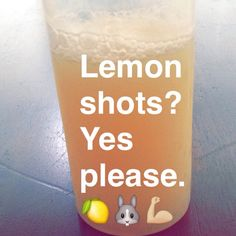 Are lemon juice shots good for you? Will lemon juice help me lose weight?  Lemon juice questions answered here! #Fitspiration | #HealthHelp | #Fitness | #Wellness | #Lifestyle | #Lemonshots | #LemonJuice | #Cleanse | #TryThis