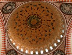 The Dome of Süleymaniye Mosque