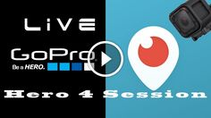 How to Periscope | GoPro Hero 4 Session Live |: How to Periscope #Periscope #goprohero4black #goprohero4session #goprosession5