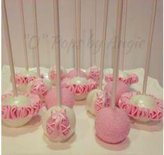 Ballet Birthday Cakes, Ballet Cakes, Ballerina Birthday Parties, Ballerina Party, Cupcake Bailarina, Ballerina Cake Pops, Fondant Cakes, Cupcake Cakes, Oreo Cake Balls
