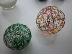 String Ball Ornaments | Child Central Station