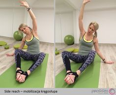 side reach for spine mobility