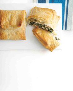 Turkey Recipes: Spinach-and-Turkey Hand Pies