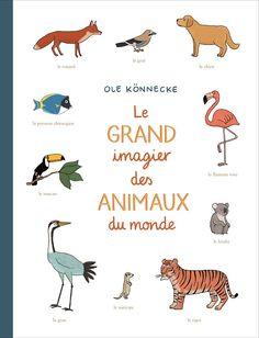 """Livre """"Le grand imagier des animaux du monde"""" (par Ole Konnecke)"""