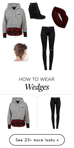 """""""Untitled #312"""" by fashion4years on Polyvore featuring Dsquared2, J Brand and Lime Crime"""