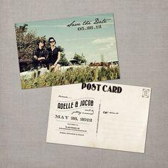 Nostalgic Imprints Inc. - Adelle - 4x6 Vintage Photo Save the Date Postcard, $1.52 (http://www.nostalgicimprints.com/save-the-date/save-the-date-postcards/adelle-4x6-vintage-photo-save-the-date-postcard/?fullSite=1/)