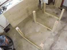 Remodelaholic | Table Saw Workbench Building Plans with Rockler T-Track System