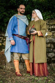 Italian Longobard Civilians (7th century AD)