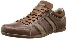 Loch, Baskets Basses Homme, Marron (Dark Brown), 42 EULevi's