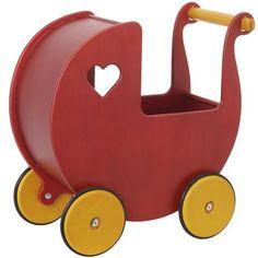 Hippychick Moover Red Dolls Pram @ Kiddicare.com
