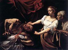 Judith Beheading Holofernes - Caravaggio. 1598-99. Oil on canvas. 145 x 195 cm. Galleria Nazionale d'Arte Antica, Rome, Italy.
