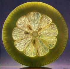 Paintings Of Fruit Artist Dennis Wojtkiewicz is a true master of photorealism. These paintings look like giant macro photos. Dennis Wojtkiewicz, Realistic Paintings, Oil Paintings, Awesome Paintings, Fruit Painting, Lemon Painting, Still Life Oil Painting, 10 Picture, Fruit Art