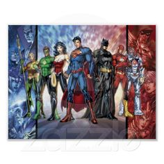 The New 52 - Justice League. Next years cosplay. Mommy Meggan has some work to do..